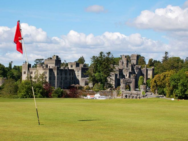 Ashford Castle golf course Mayo