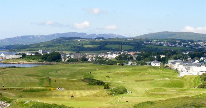 Buncrana golf course Donegal