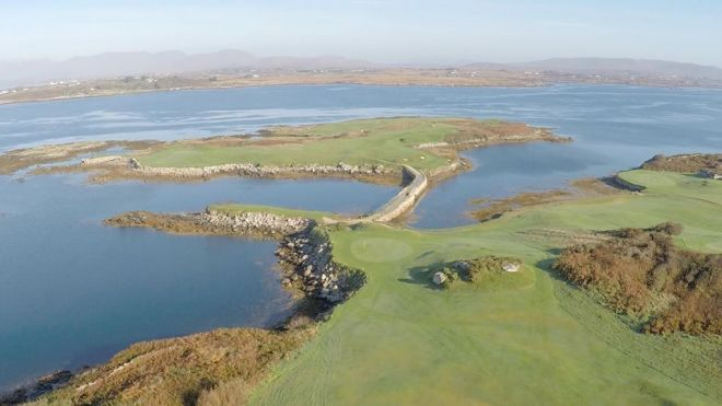 Connemara Isles golf course Galway