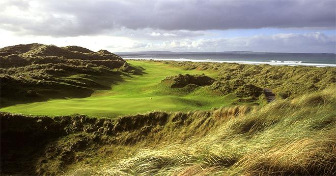 Enniscrone golf course Sligo