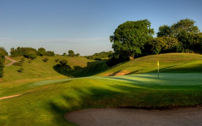 Esker Hills golf course Offaly