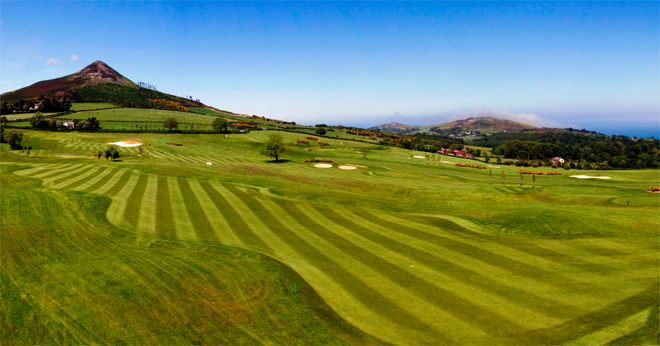 Glen of the Downs golf course Wicklow