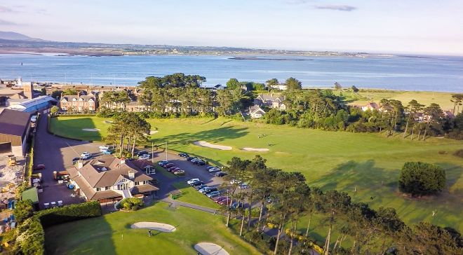 Greenore golf course Louth