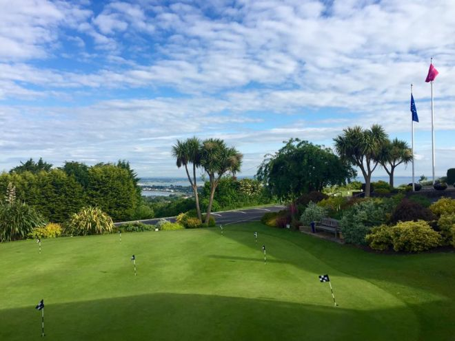 Howth golf course Dublin
