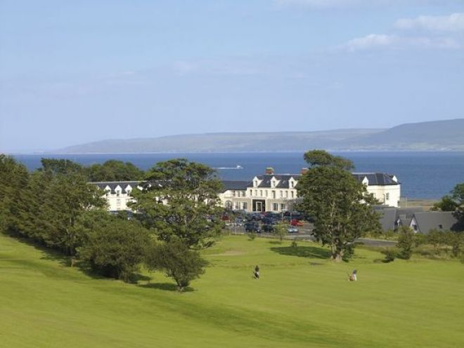 Redcastle golf course Donegal