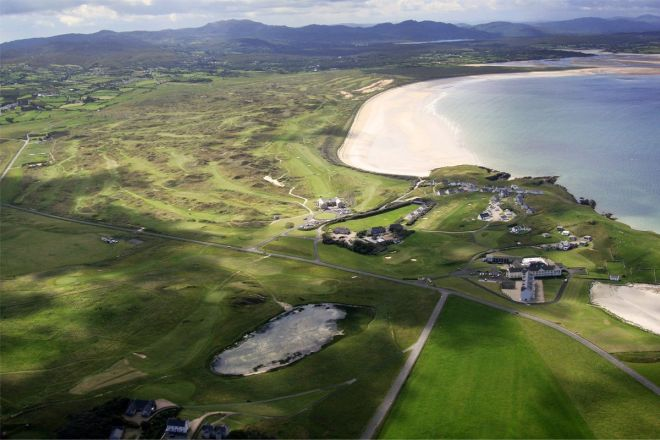 Rosapenna golf course Donegal