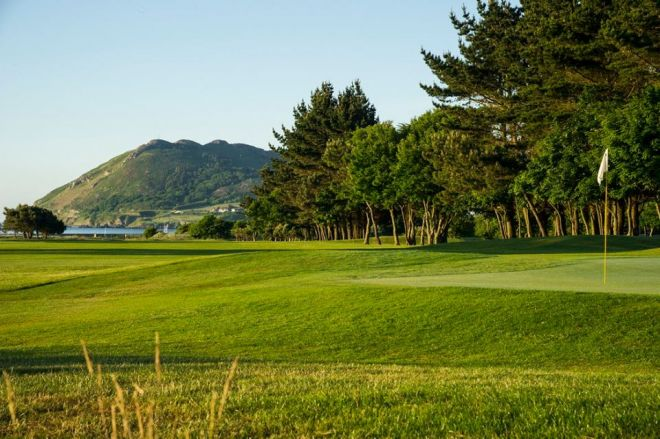 Woodbrook golf course Wicklow